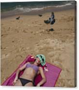 Pattaya Beach Canvas Print