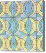 Pattern Of Serenity Canvas Print