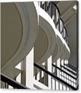 Patterned Balconies Canvas Print