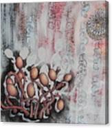 Patterned Parasites Canvas Print