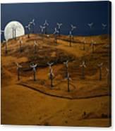 Patterson Pass Wind Farm Canvas Print