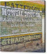 Patterson Canvas Print