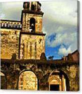 Patzcuaro Bell Tower Canvas Print