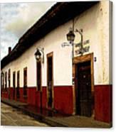 Patzcuaro Colors Canvas Print