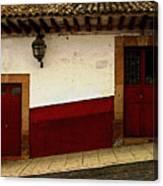 Patzcuaro Streetscape 3 Canvas Print