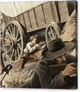 Paul Kruger Canvas Print