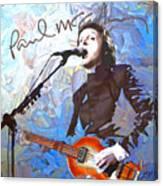 Paul Mccartney One Canvas Print