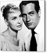 Paul Newman And Joanne Woodward In The Long Hot Summer 1958 Canvas Print