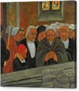 Paul Serusier 1864 - 1927 Devotion To S. Herbot Forgiveness Canvas Print