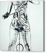 Paula Captive Wild Woman Canvas Print