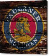 Paulaner Beer Sign 1a Canvas Print