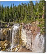 Paulina Creek Falls From The Top Canvas Print