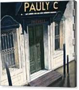 Pauly C. Fornache Canvas Print