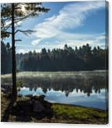 Pauper Lake Morning Canvas Print