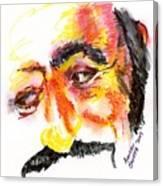 Pavarotti Sketch No. 1 Canvas Print