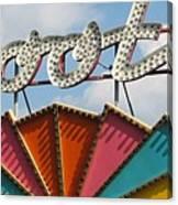 Pavilion Skooter Canvas Print