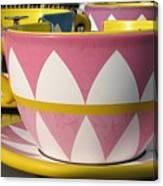 Pavilion Tea Cups Canvas Print