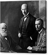 Pavlov, Anrep, Babkin Canvas Print