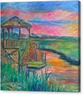 Pawleys Island Atmosphere Stage One Canvas Print