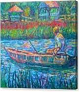 Pawleys Island Fisherman Canvas Print