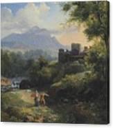 Paysage Arcadien Canvas Print