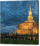 Payson Temple Panorama Canvas Print