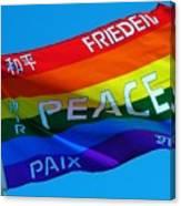 Peace - Paz - Paix Canvas Print