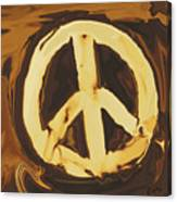 Peace 2 Canvas Print
