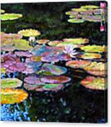 Peace Among The Lilies Canvas Print