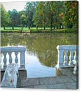 Peace By The Lake Canvas Print