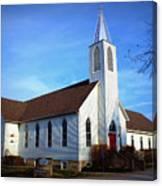 Peace Church Canvas Print