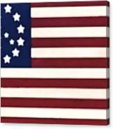 Peace Flag Canvas Print