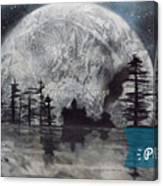 Peace In The Dark Canvas Print