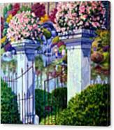 Peace In The Garden Canvas Print
