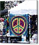 Peace In The Streets Canvas Print