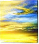 Peace Is Golden Canvas Print