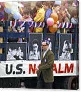 Peace March 1967 Canvas Print