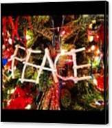 Peace Ornament Canvas Print