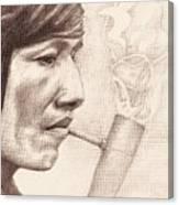 Peace Pipe Canvas Print