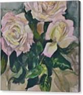 Peace Rose Canvas Print