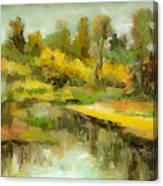 Peaceful 2 Canvas Print