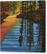 Peaceful Brook Canvas Print