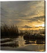 Peaceful Clouds Canvas Print