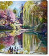 Peaceful Garden Canvas Print