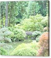 Peaceful Garden Space Canvas Print