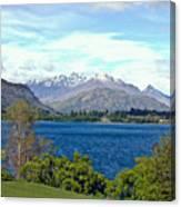 Peaceful Lake -- New Zealand Canvas Print