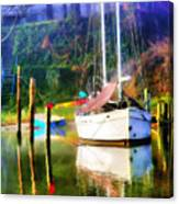 Peaceful Morning In The Cove Canvas Print