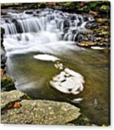 Peaceful Pool Waterfall Canvas Print