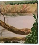 Peaceful River Canvas Print