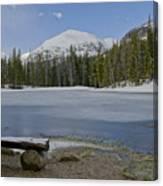 Peaceful Rocky Mountain National Park Canvas Print
